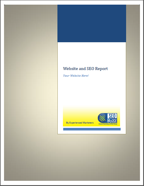 Get your SEO and website report today