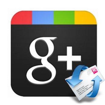 Image Representing Google Plus Community Notification Email
