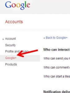 Image representing how to go to google plus