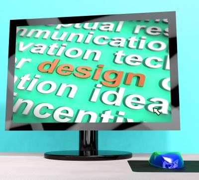 Image representing common website design mistakes