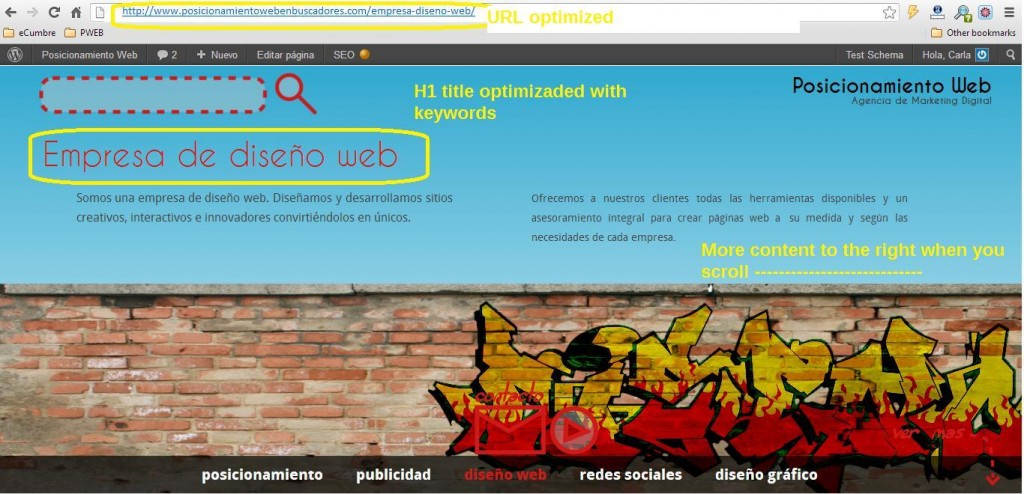 Image representing parallax-scrolling seo onsite example 1