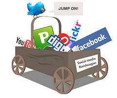 Image representing grow your business with social media marketing