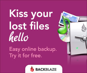backblaze cloud solution is best way to backup computer