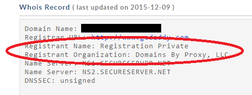private domain registration