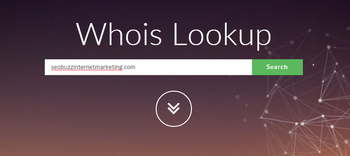 visit whois to find domain registration information