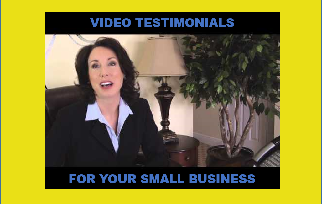 Video Customer Testimonials for Small Business